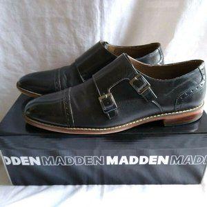 Steve Madden Ceron Double Buckle Monk Shoes 10